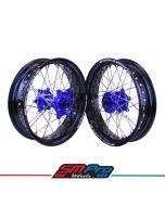 Husqvarna TC/ FC TE/FE 125-501- SM Pro Platinum Supermoto Wheel Set - (Multiple Colour Options)