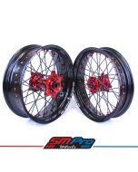 Beta RR 4T & 2T SM Pro Platinum Supermoto Wheel Set - (Multiple Colour Options)