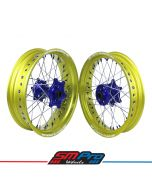 Suzuki RM/ RMZ SM Pro Platinum Supermoto Wheel Set - (Multiple Colour Options)