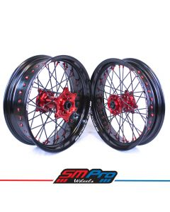Beta RR 4T & 2T SM Pro Platinum Supermoto Wheel Set - (Multiple Colour Options)