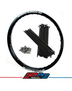 Rim and Spoke Set (SM Pro Platinum) 21x1.60 KTM EXC/EXCF All Models 125-500 (03-18) Front