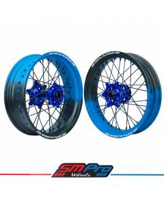 Honda CR/F/X/L SM Pro Platinum Supermoto Wheel Set - (Cerakote Fade Colour Options)