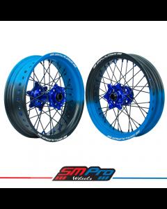 Honda CR/F/X/L SM Pro Platinum Supermoto Wheel Set - (Cerakote Fade Colour Options)
