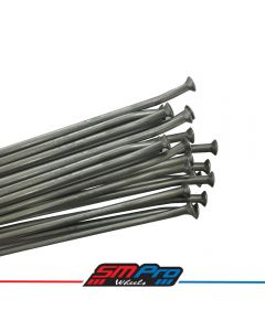 Spoke set (Galvanised) - 21 Gas Gas Front EC (2009-2015) - Zinc Nipples (36)