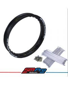 Honda CRF150 Rim (16 x 1.85) Gloss Black (36) SM Pro