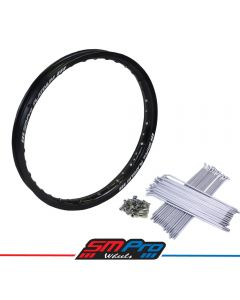 Honda CRF 450R Rim (21 x 1.60) Gloss Black(36) SM Pro Platinum Rim - MX Drilling