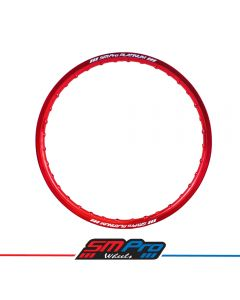 Rim (SM Pro Platinum)  - 21 x 1.60 (36) - Red - Honda Drilling