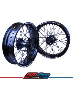Kawasaki KX / KXF SM Pro Platinum Supermoto Wheel Set - (Multiple Colour Options)