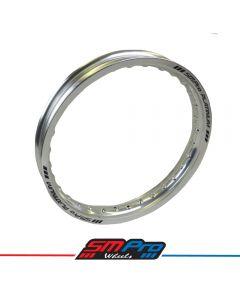 Rim (SM Pro Platinum) - 16 x 1.85 (32) - Gloss Silver Rim - MX Drilling