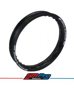 Rim (SM Pro Platinum) - 16 x 1.85 (32) - Gloss Black Rim - MX Drilling