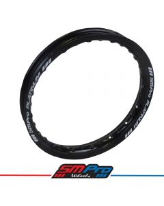 Rim (SM Pro Platinum) - 12 x 1.60 (36) - Gloss Black Rim - MX Drilling