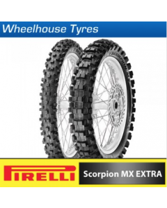 Pirelli Motocross Tyre & Tube Package