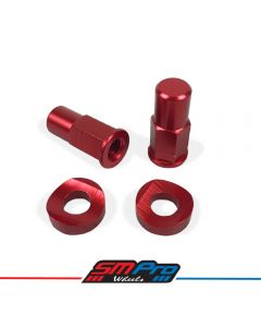 SM Pro Security Bolt - Rim Lock Kit (Red Anodised)