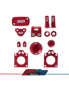 Bling Kit CRF 450 2002-2008, CRF-X 2005 -on (Red)