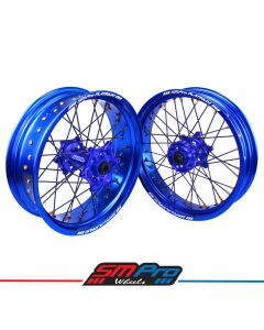Yamaha YZ/YZF/WRF/WRX Supermoto Wheel Set - (Multiple Colour Options)