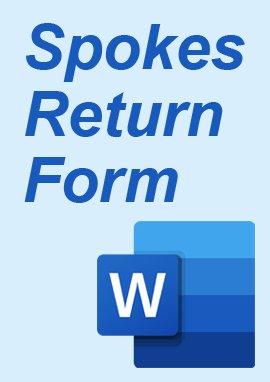 Spoke Returns Form